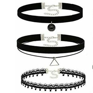 Black Choker Necklace Sale 3 for $10